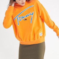 Tommy Jeans Crew-Neck Sweatshirt | Urban Outfitters