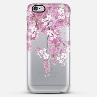 Cherry Spring iPhone 6 Plus Transparent case iPhone 6 Plus case by Monika Strigel | Casetify