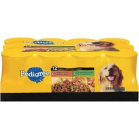 Pedigree Choice Cuts in Gravy Variety Pack, Beef and Country Stew 13.2oz Cans, 12 Count Wet Dog Food - Walmart.com