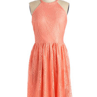 ModCloth Pastel Sleeveless A-line Right Hand Lady Dress