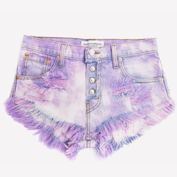 Dangers Love Clouds Studded Babe Shorts