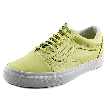 Vans Old Skool Pastel Pack Yellow Cream Men's Classic Skate Shoes Size 8.5