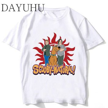 supernatural T shirt Hip Hop Style New funny Design T-shirt Cool Fashion Men tshirt Color