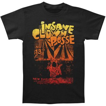 Insane Clown Posse Men's  New Oasis Nov 13th T-shirt Black