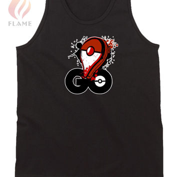 Pokemon Go Pin Splash Art Mens Tank Top