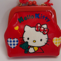 1993 HELLO KITTY Coin Purse, NEW with tag