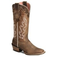 Sheplers: Ariat Crossfire Caliente Cowgirl Boots - Wide Square Toe