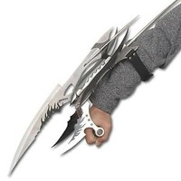 Fantasy X Men Shark Hunter Sting Ray Galaxy Claw Gauntlet Knife Blade Sword New