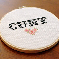 C*NT Cross Stitch