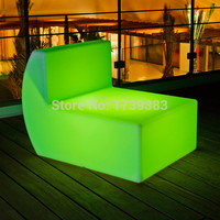 Rechargeable LED down outdoor sofa Multi colors Remote controll decorating your living room, bedrooms, garden, pool, terrace etc