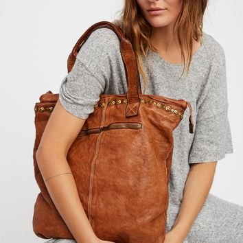 Free People Benevento Distressed Tote