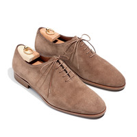 lace-up walk water repellent suede | Loro Piana