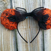 Halloween Minnie Mouse ears