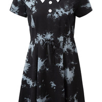 Dye Fast Tie Dye Dress [B]