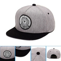 2016 New Men's Fashion Boy Hip Hop Adjustable Baseball Snapback Hat Cap [8833660300]