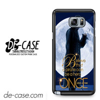 Once Upon A Time Captain Jack For Samsung Galaxy Note 5 Case Phone Case Gift Present