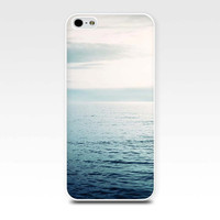 iphone case beach scene iphone 4 4s 5 case nautical ocean photography beach art waves iphone 4 4s case sea aqua teal blue sunset phone case