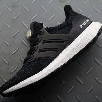 Adidas Ultra Boost Trending Women Men Casual Sport Running Shoes Sneakers Black I