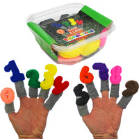 Learn To Count Finger Puppets, Set of 10