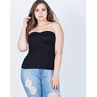 Plus Size Summer Tube Top