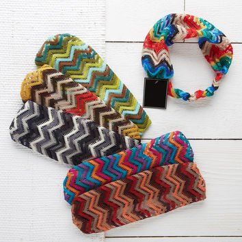 Chevron Stretch Headband