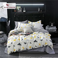 SlowDream Geometry Bedding Set luxury Bedspread Comforter Double Sheets Duvet Cover Linens Nordic Adult Queen King Bedclothes