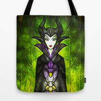 The Evil Fairy Tote Bag by Mandie Manzano