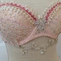Sleeping Beauty Rave Bra (2 pieces)