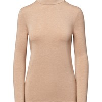 Long-Sleeve Stretch-Modal Turtleneck | Banana Republic