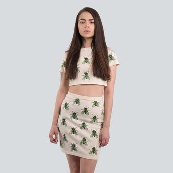 Buzzing Crop Top