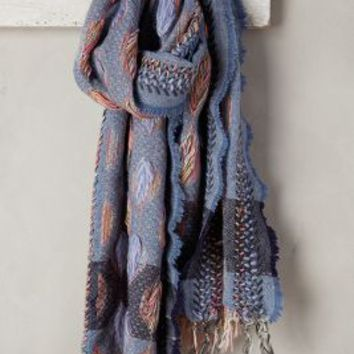 Autumnlight Scarf by Anthropologie in Blue Size: One Size Scarves