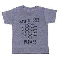 Save the Bees Please - Kids' T-Shirt