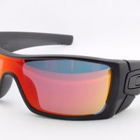 Oakley BATWOLF OO9101-38 Sports Surfing Skate Cycling Golf Driving Sunglasses