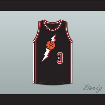 LL Cool J Marion Hill 3 Black Basketball Jersey In the House