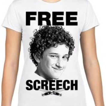 Free Screech Girls T-Shirt