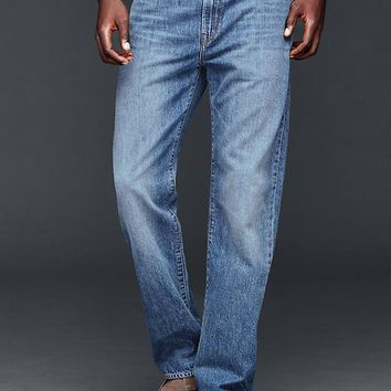 Gap Men 1969 Relaxed Fit Jeans Light Authentic