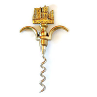 1970s Vintage corkscrew wine bottle opener Belvoir Castle souvenir