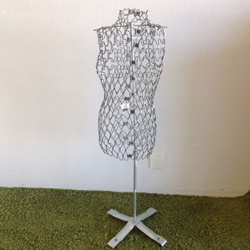 Mesh Dress Form Dritz My Double Model A With Accessories Vintage Mid Century