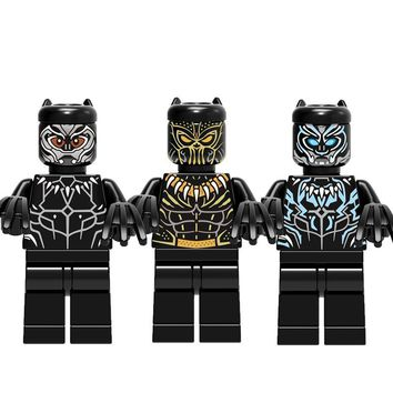 Super Heroes Legoing Black Panther Building Blocks Single Sale Shuri Bricks Children Toys For Children Mavel Infinity War Brick
