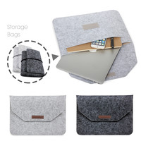 New Fashion Soft Sleeve Bag Case For Apple Macbook Air Pro Retina 11 12 13 15 Laptop Anti-scratch Cover For Mac book 13.3 inch