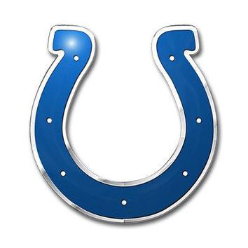 Licensed Official NFL Indianapolis Colts Premium Vinyl Decal / Sticker / Emblem - Pick Your Pack