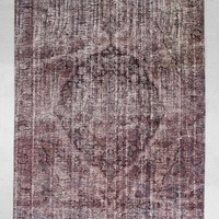 Vintage Purple Overdyed Woven Rug - Urban Outfitters