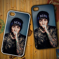 Oliver Sykes Bring Me the Horizon and Signature F0543 LG G2 G3, Nexus 4 5, Xperia Z2, iPhone 4S 5S 5C 6 6 Plus, iPod 4 5 Case