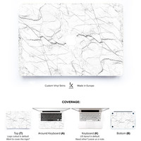 Macbook Marble Skin White Marble Skin Decal Macbook Skin Macbook Pro Skin Macbook Air Skin Macbook Cover Macbook Decal White Marble no4