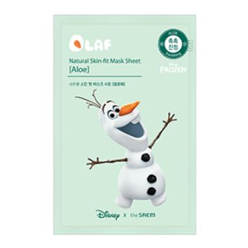 [the SAEM] (Disney Edition) Natural Skin Fit Mask Sheet [Aloe]