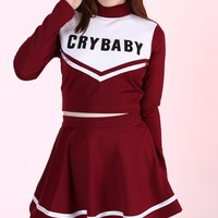 Glitters For Dinner — Team Crybaby Cheerleading Set for Halloween 2015 <3