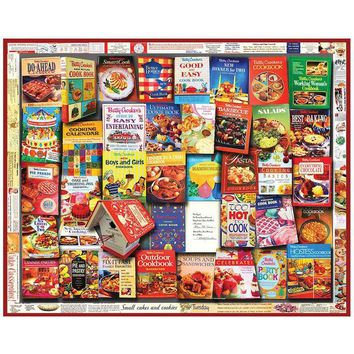 Betty Crocker Cookbooks 1,000-Piece Jigsaw Puzzle