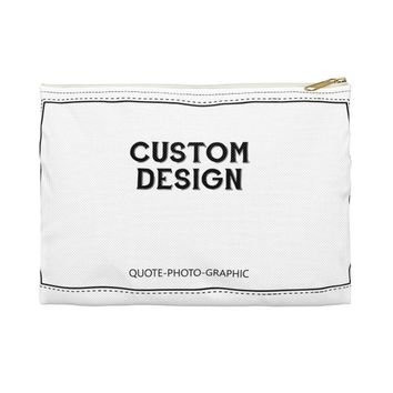 Personalized Accessory Pouch - Custom Makeup Bags | pencil case customizable