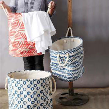 Canvas Laundry Baskets