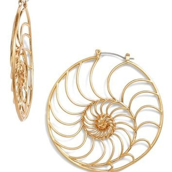Tory Burch Fiddlehead Fern Earrings | Nordstrom